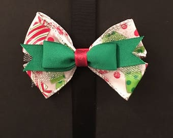 Candy Green Bow