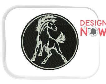 Mascot Horse Machine Embroidery Design