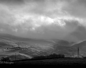 Calder Valley, Todmorden (photograph)