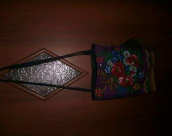 women's handbag made of natural fabrics