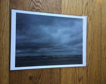 A4 Print of beautiful Tasmanian beach