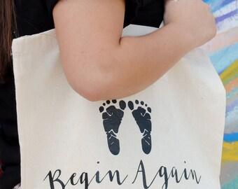 Begin Again Tote