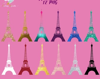 Eiffel Tower Clipart Paris Clip Art French France Silhouettes