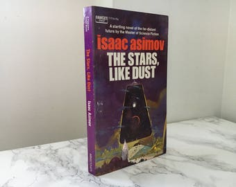 The Stars, Like Dust by Isaac Asimov (Vintage Paperback)