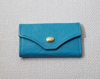 Vintage Princess Gardner Turquoise Key Case