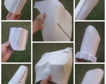 Foam templates etsy stormtrooper full armor foam templates cosplay costume pronofoot35fo Choice Image
