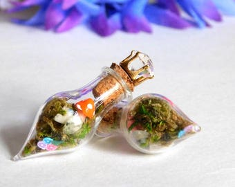 Magical Terrarium Bottle