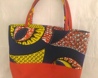 MODERN SAGUI (wax and suede tote bag)