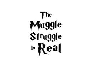 The Muggle Struggle is Real Harry Potter