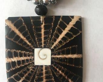 Unusual Pendant Necklace [SKU107 ]