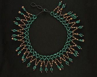 Turquoise Loop Collar