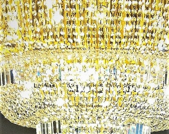 Crystal ceiling lamp, chandelier