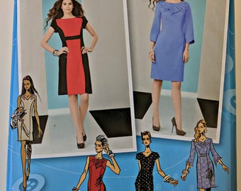 2146, Dress Pattern, Simplicity, Project Runway, Sizes 12-20, Out of Print