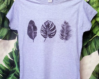 Tropical leaves  - Woman's T-shirt