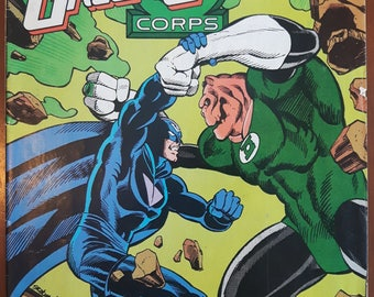 GREEN LANTERN Corps vol 1 no. 206 Canadian Cover Variant 1986 DC Comics