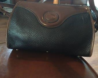 Vintage Dooney and Bourke pebbled leather handbag