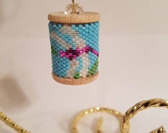 Dragonfly Beaded Spool