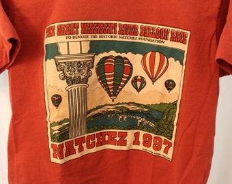 Vintage 1997 Balloon Race Tee - Kid's L / Women's S