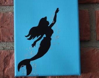 Ariel Canvas Painting