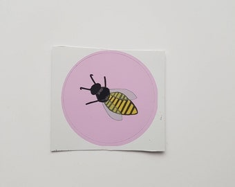 The Wanna Bee Profile Picture Laptop Sticker