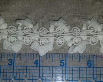Cotton bell braid trim by the yard