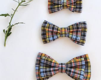 Clip on bow ties for infant - clip on bow tie for toddler - clip on bow tie - baby bow tie - baby shower gift - stocking stuffer