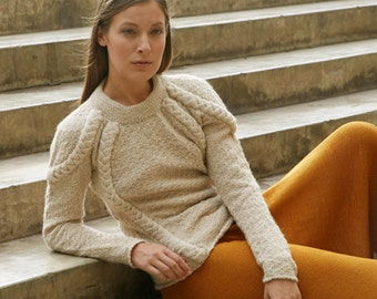 Hanneke Alpaca Knit Sweater