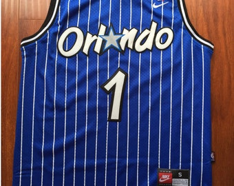 Anfernee Hardaway #1 Orlando Magic Retro / Throwback Jersey