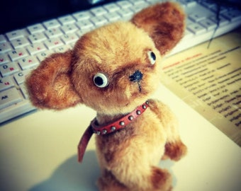 Chihuahua, Interior doll, dog doll. Interior toy. Soft sculpture.