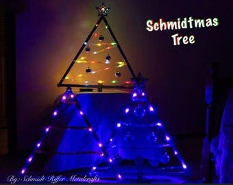 Galvanized Christmas Tree (Ornament Display Tree)