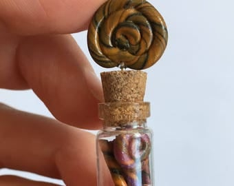 Halloween Lollipop Candy Bottle