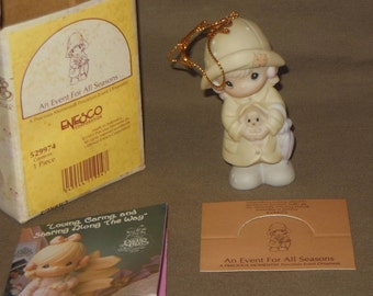 Precious Moments ornament An Event for All Seasons with box  529974