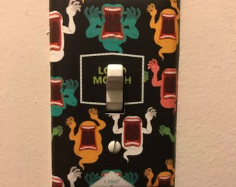 New Glory Loud Mouth Light Switch Cover