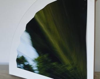 "Sculpture papier et photographie ""Speedlight"""