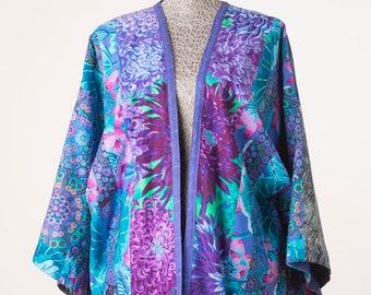 Kimono style loose fitting jacket
