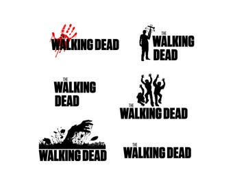 walking dead SVG, walking dead vector, PNG, Cut Files, Svg Files, Cricut Files, vector Files, walking dead silhouette