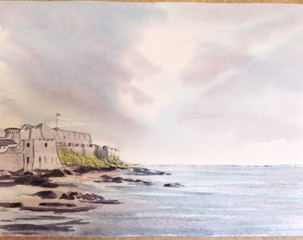 Watercolours  Guernsey