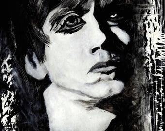 Lust for life (Iggy Pop portrait)