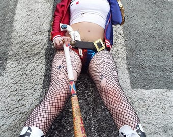 8x10 Glossy Print Harley Quinn Cosplay - Signed by Eva Hunter