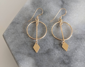The Compass Earrings