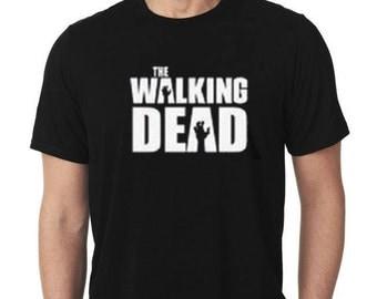 The Walking Dead Shirt / Men's Shirt / The Walking Dead / TV Show T-Shirts / Walking Dead T-Shirt / Zombie Shirt / Zombie Apocolyps Shirt
