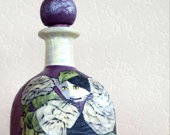 Cats-deco Bottle