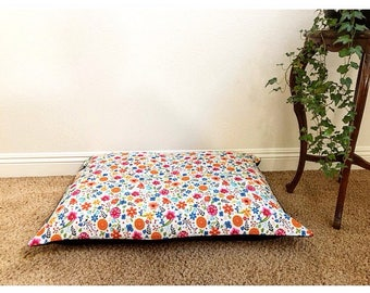 Floral Madness Dog Bed Cover
