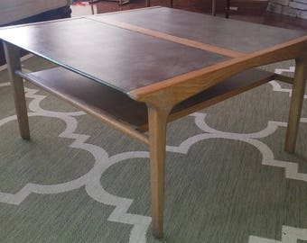 Drexel Profile coffee table by John Van Koert
