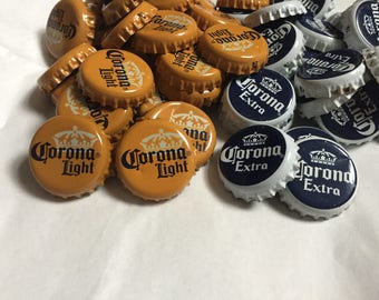 Corona Extra and Corona Light Bottle Caps
