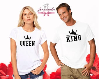 Matching Wedding Shirts, Couples Gift, Tops and Tees Couple, Matching Shirts, Couple Gift, Clothing Couples Gift, Family Outfit V21
