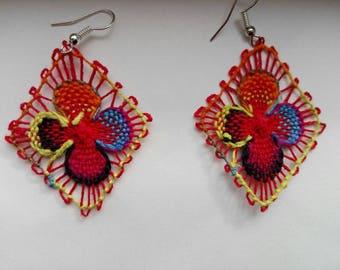 Ñandutí Earrings