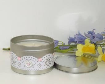 Lily Of The Valley Fragranced Soy Candle.