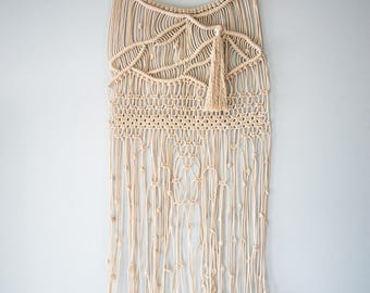 Sense and Sensibility Macrame Wall Hanging