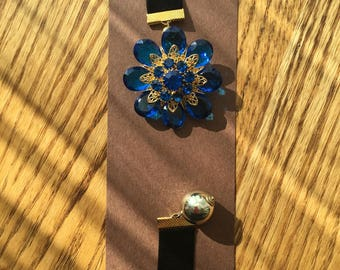 BookMark Jewelry; Blue & Gold